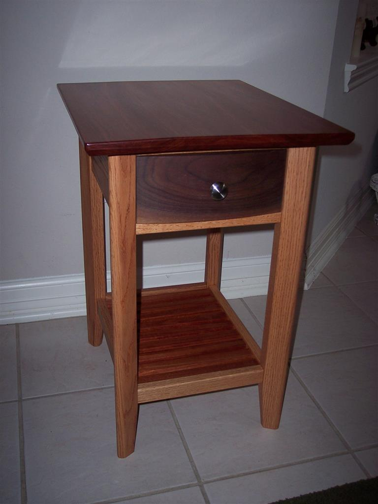 Bloodwood End Table